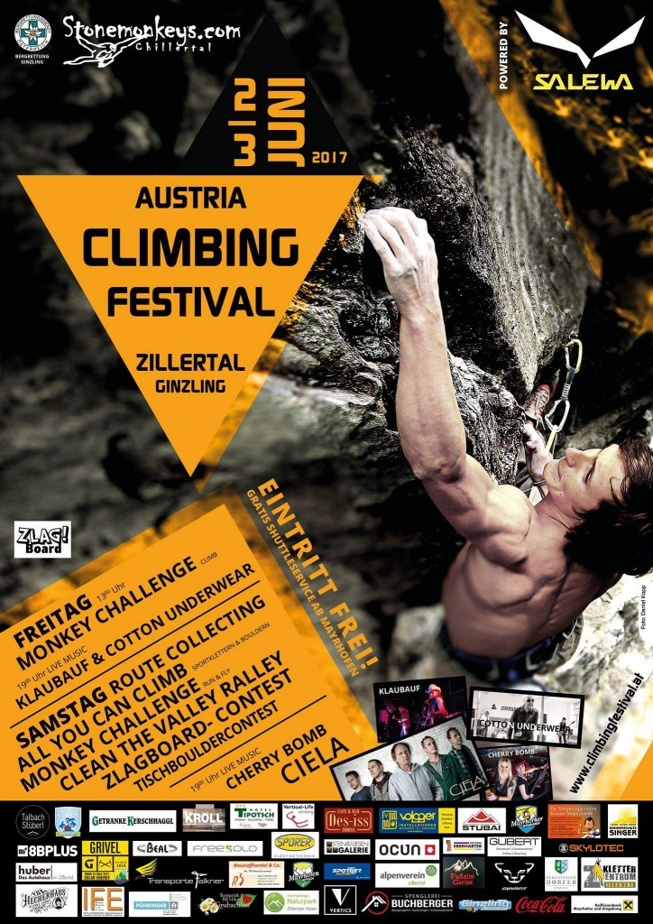 Austria Climbing Festival 2017 @ Ginzling, Zillertal   Ginzling   Tirol   Österreich