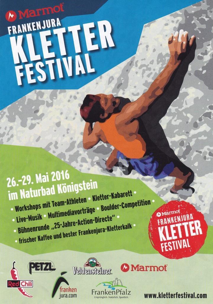 2. Marmot Frankenjura Kletterfestival @ Naturbad Königstein