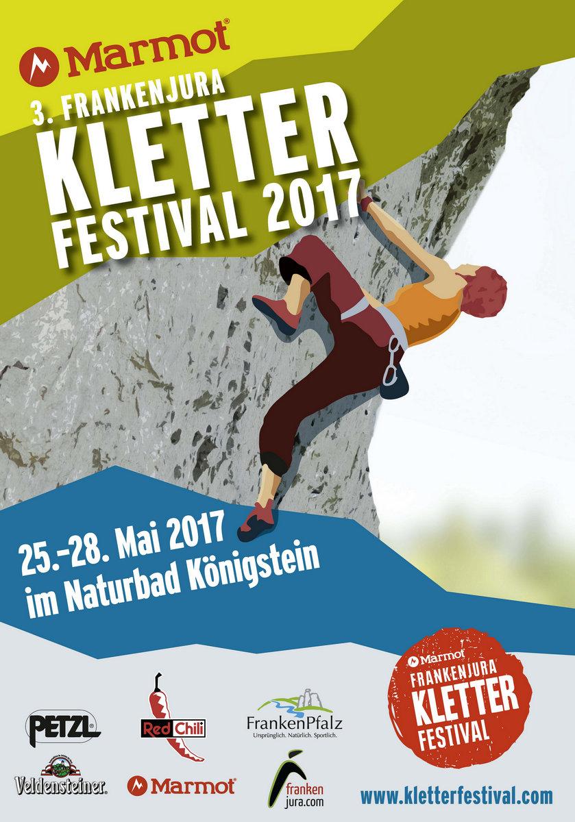 3. Marmot Frankenjura Kletterfestival @ Naturbad Königstein