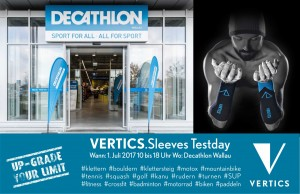 VERTICS.Sleeves Promotion @ Decathlon Wallau | Hofheim am Taunus | Hessen | Deutschland